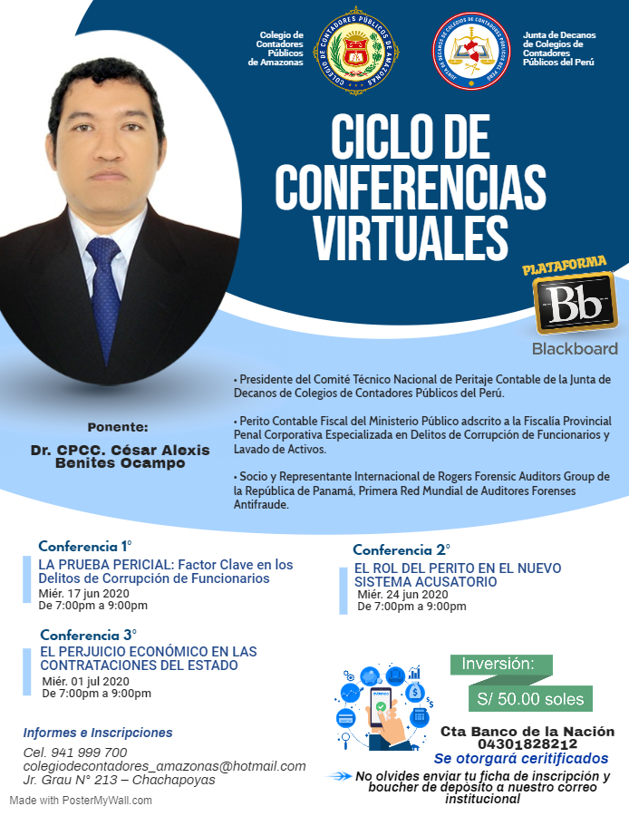 Thumbnail for the post titled: Ciclo de Conferencias Virtuales